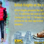 British Knights on the Catwalk at GDS thumb