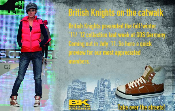British Knights on the Catwalk at GDS