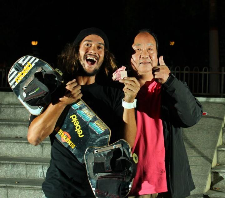 World Championship Streetboarding Shanghai 2012(5)