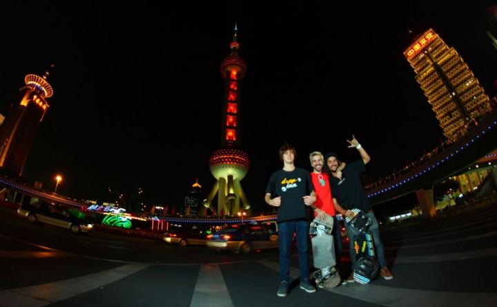 World Championship Streetboarding Shanghai 2012(9)