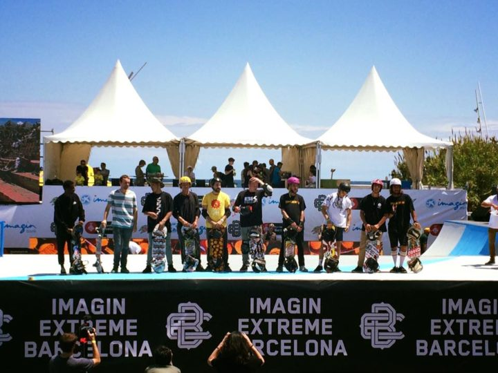 Sergi winning champignonship Barcelona 2