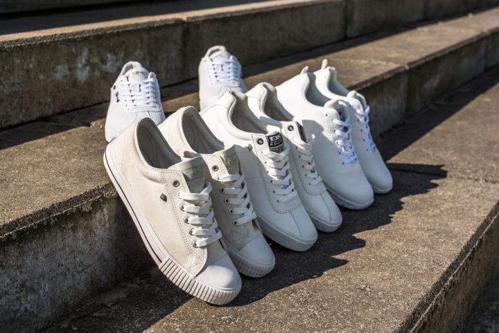 18 05 Men White Sneakers - Carousel image