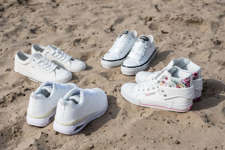 18 05 WOMEN White Sneakers - Carousel image
