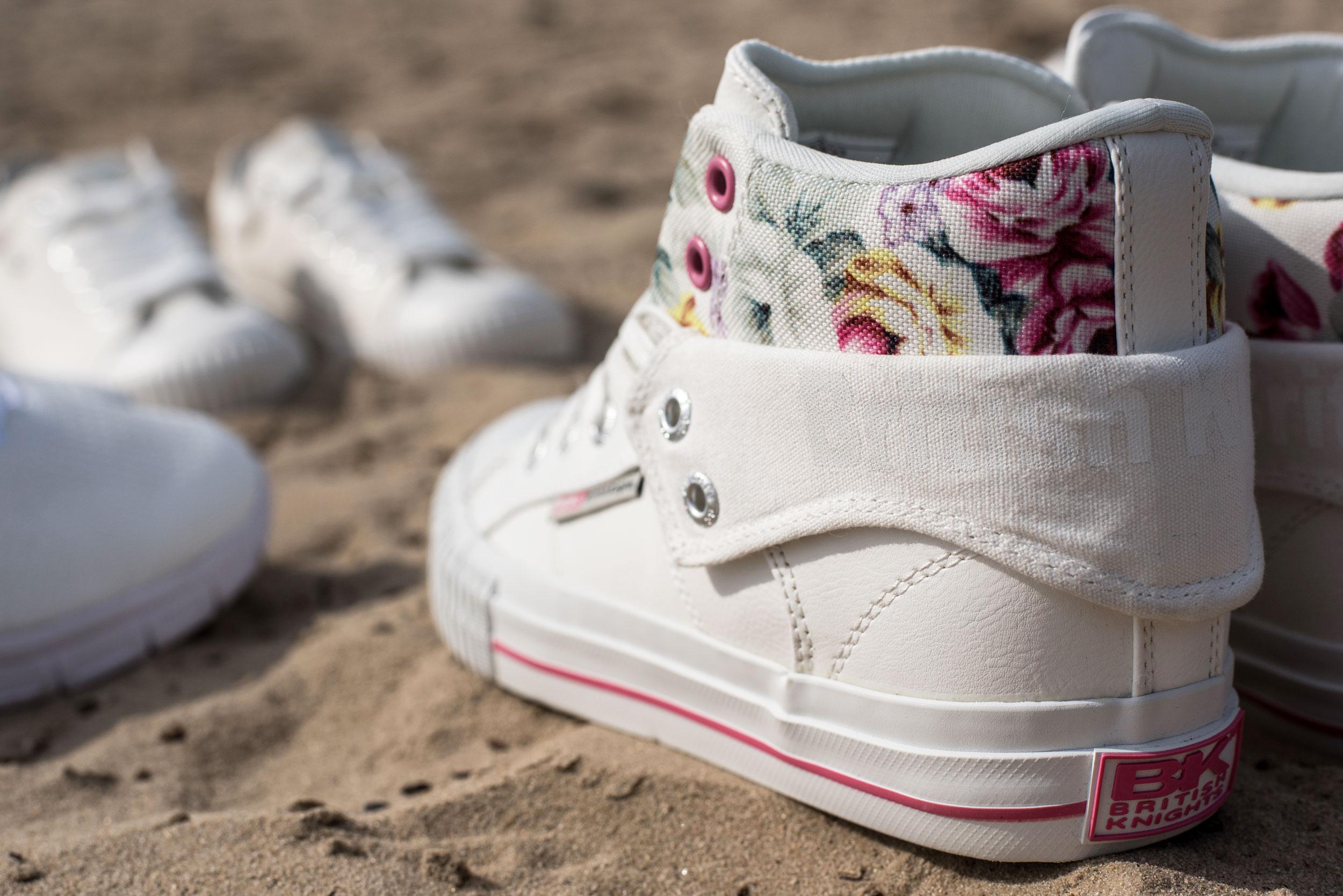 Women White shoes - British Knights ROCO