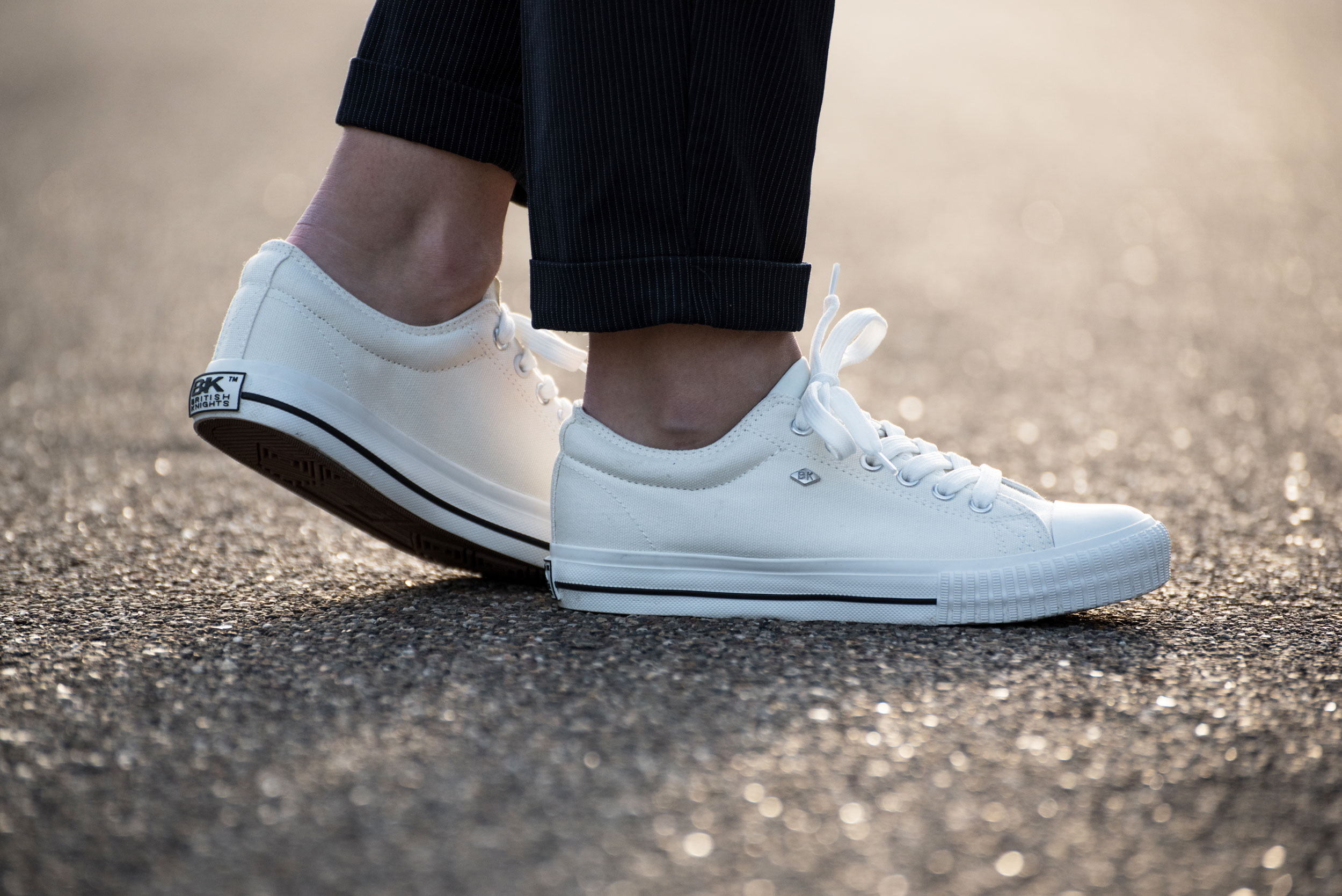 White sneakers - British Knights MASTER LO