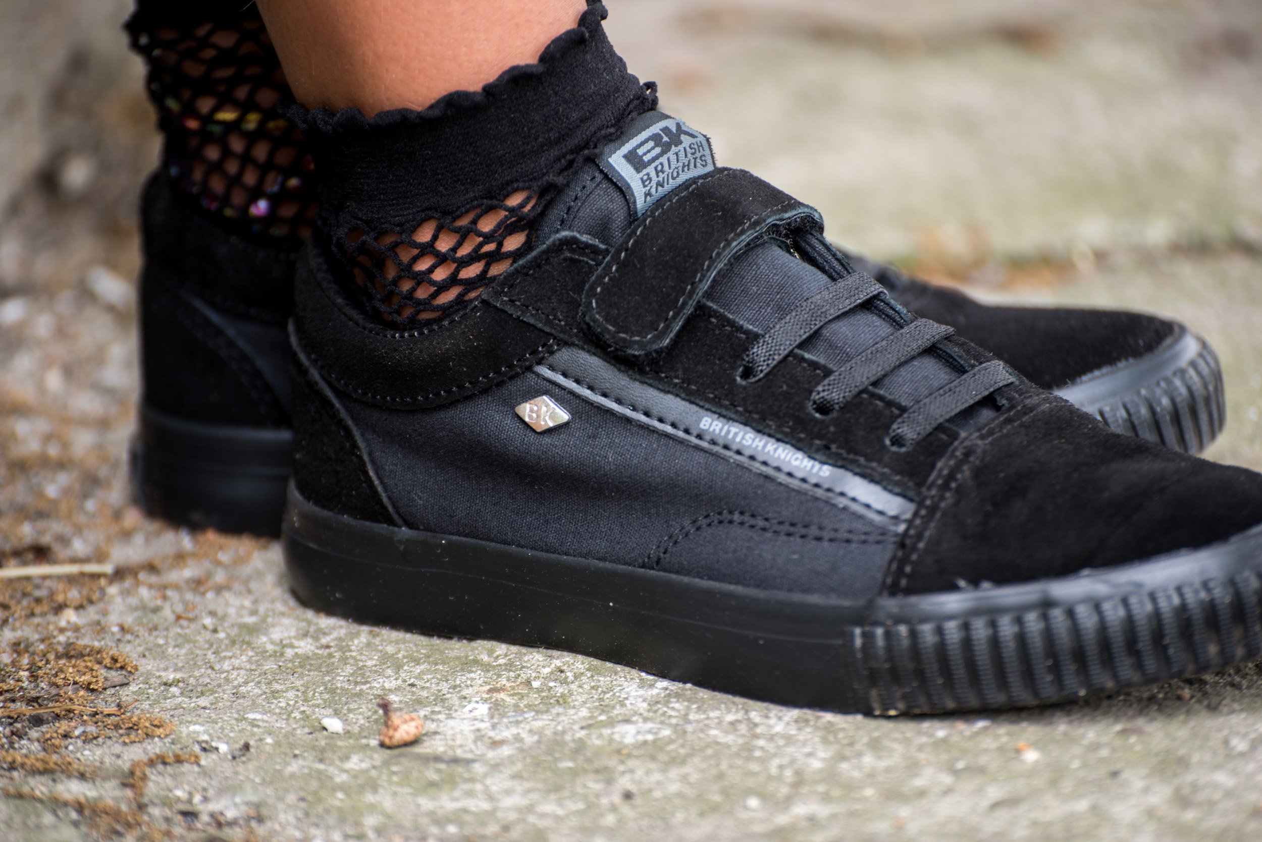 New school year - New Black kids shoes