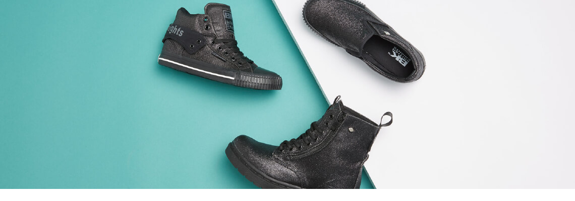 Women's All Black Sneakers