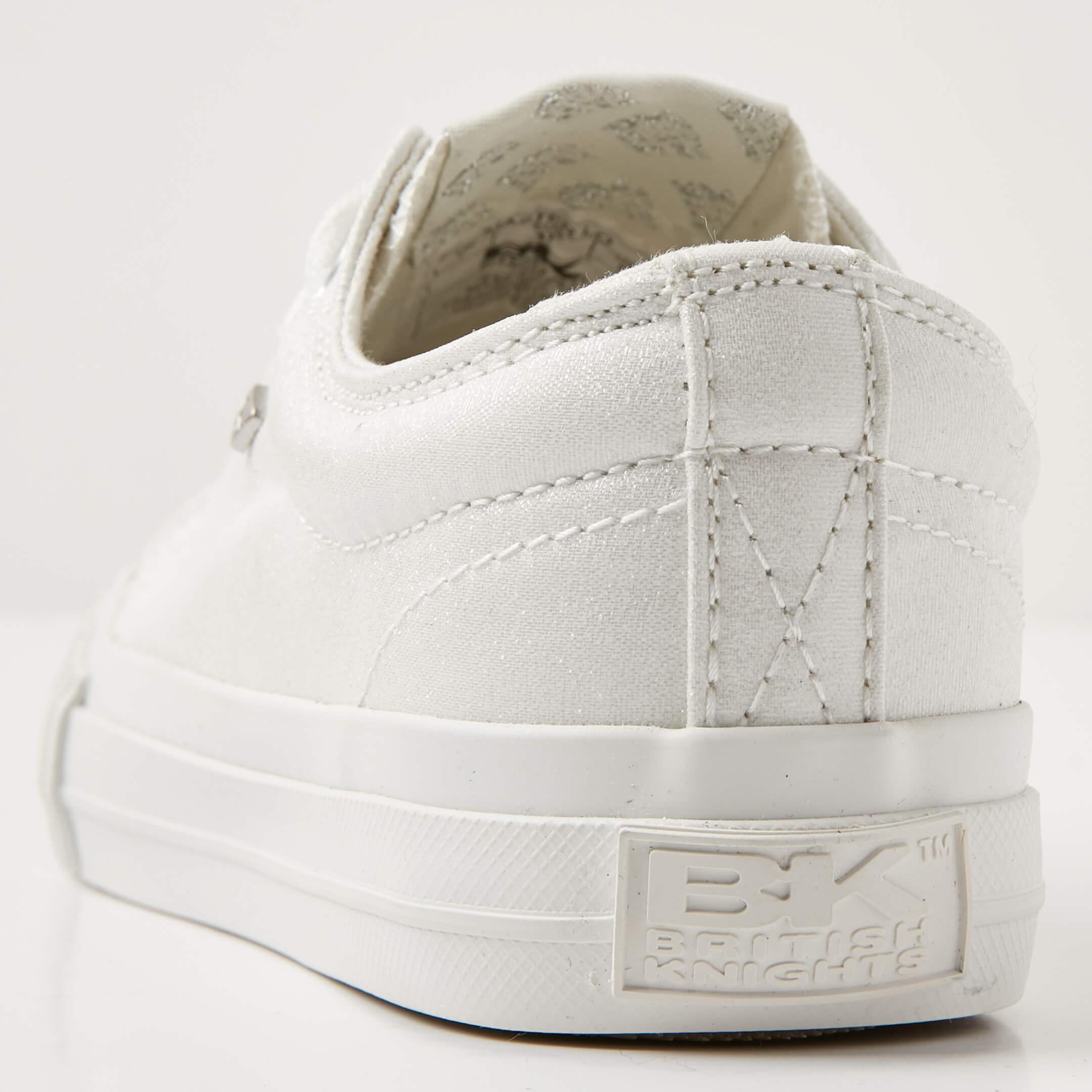 British Knights Knights British Master lo señora semi zapato cortos-Weiss 42-b43-3719-f e8ebe1